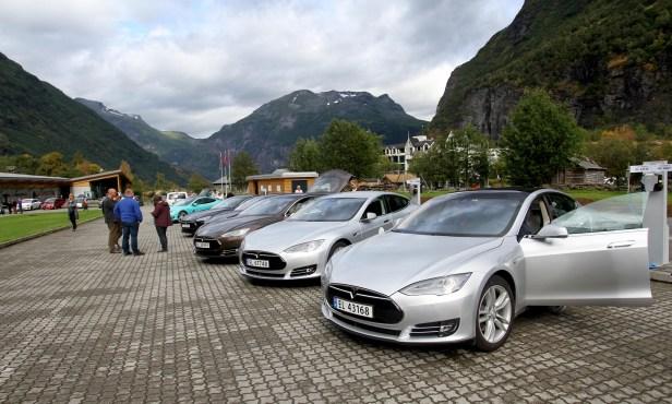 Norway-Teslas