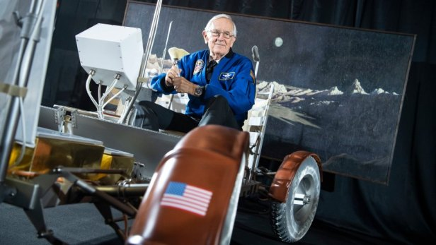 US former astronaut Charlie Duke in Munich, Germany - 01 Jun 2019