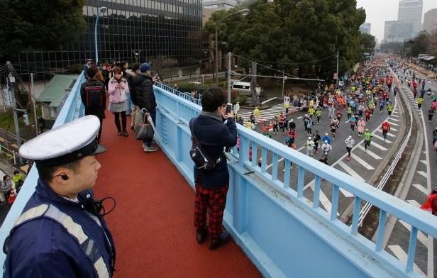 Japan Tokyo Marathon Security