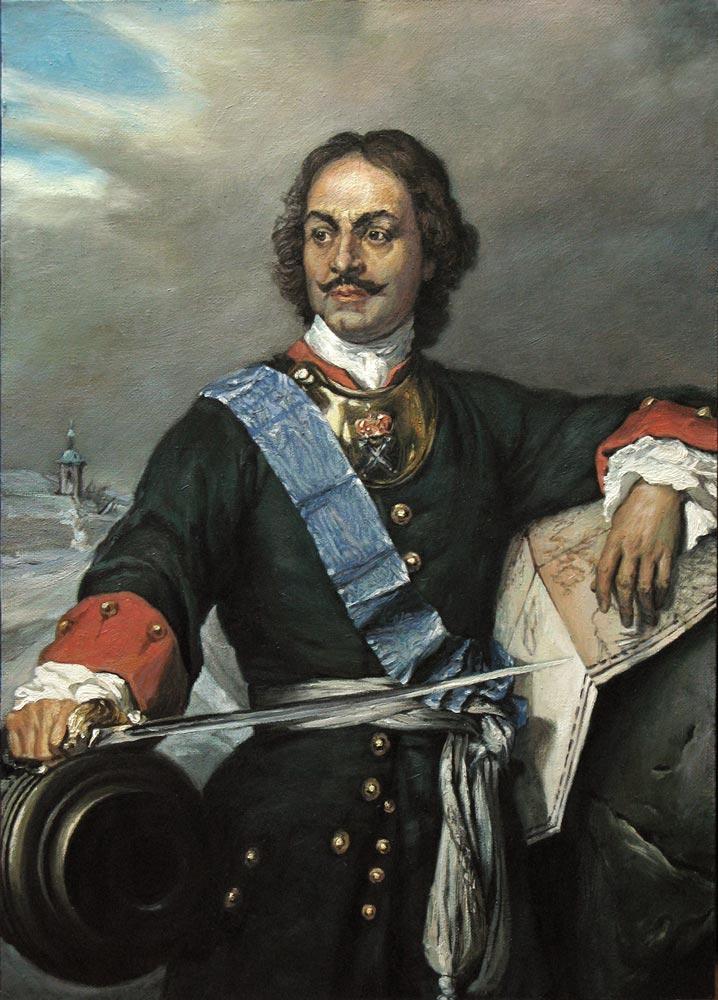 Peter Romanov est né le 9 juin 1672, le 14e enfant du tsar d'alors, Aleksey Mikhailovich.
