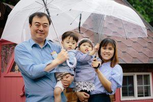 La famille en coréen