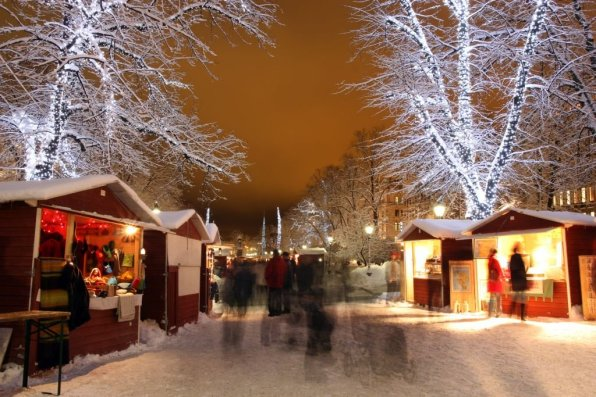 St Thomas Christmas Market. Photo: Visit Finland