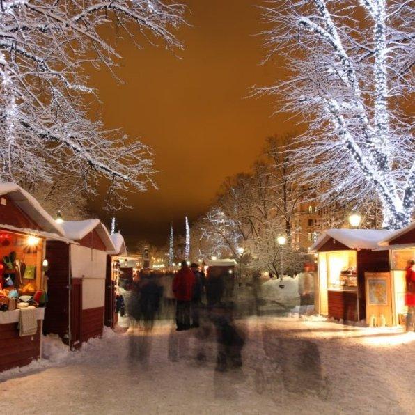 St Thomas Christmas Market. Photo: Visit Finland