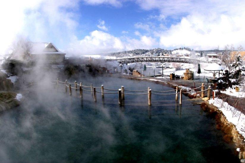 Pagosa Hot Springs Pool Bridge