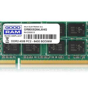 GoodRam DDR3 SODIMM 4GB 12800 PC3