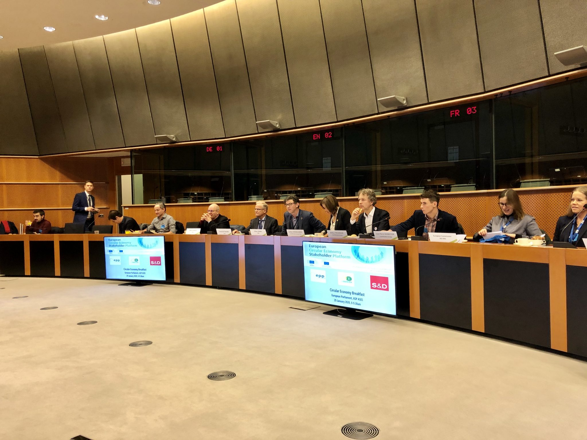 Successful ECESP Meeting In The European Parliament