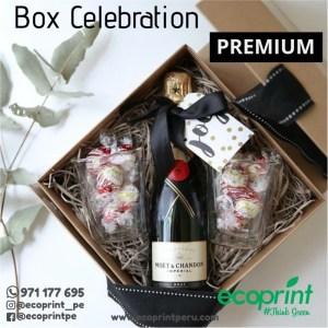 box caja con champagna regalo personalizado regalos premium corporativo ecoprint peru lima