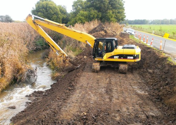 Moe Canal Bed and Bank Stabilisation