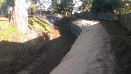 Thrushgrove Creek Erosion Control