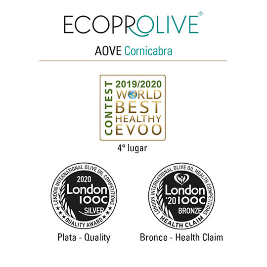 Premios - AOVE Cornicabra - Ecoprolive