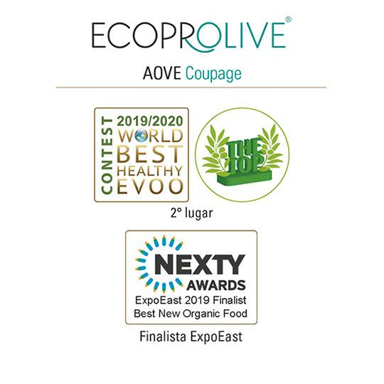 Premios - AOVE Coupage - Ecoprolive