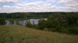 Рой елеватор в ландшафтному парку синельниківському районі