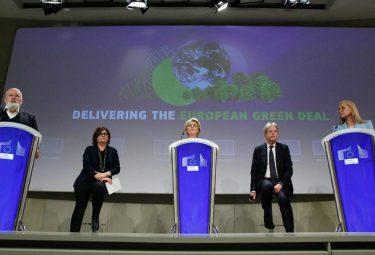 EC announcing Green Deal