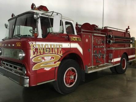 It's a whole damn fire truck!