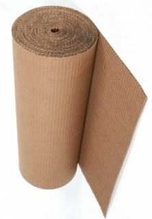 Cartón corrugado por rollo
