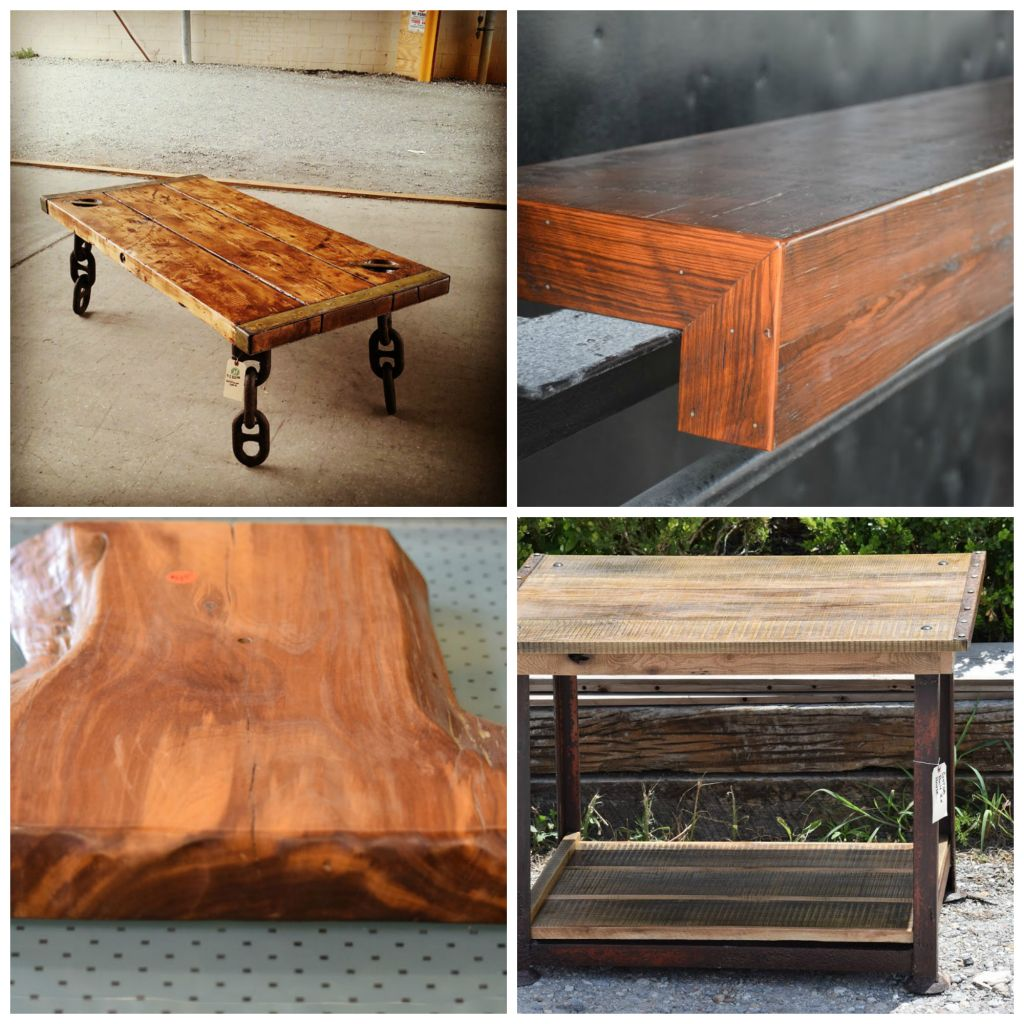 custom fabricated furniture gallery from wood and metal