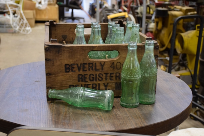 antique and estate sale collectibles