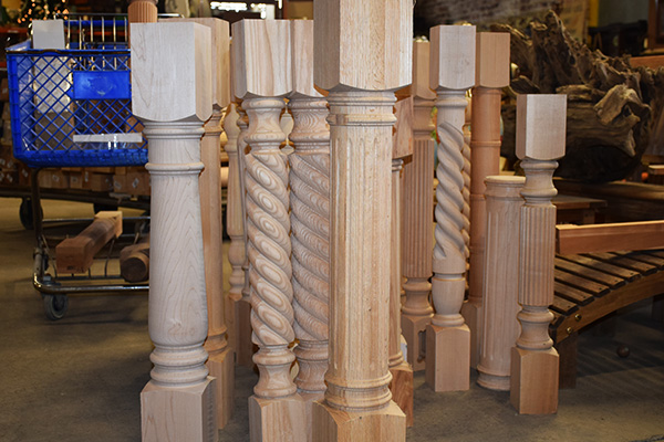 Surplus Spindles and Corbels