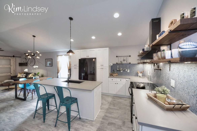 Custom Kitchen makeover by Level Up Design