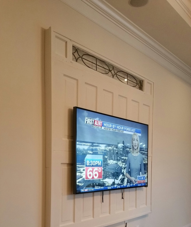 DIY Entertainment wall