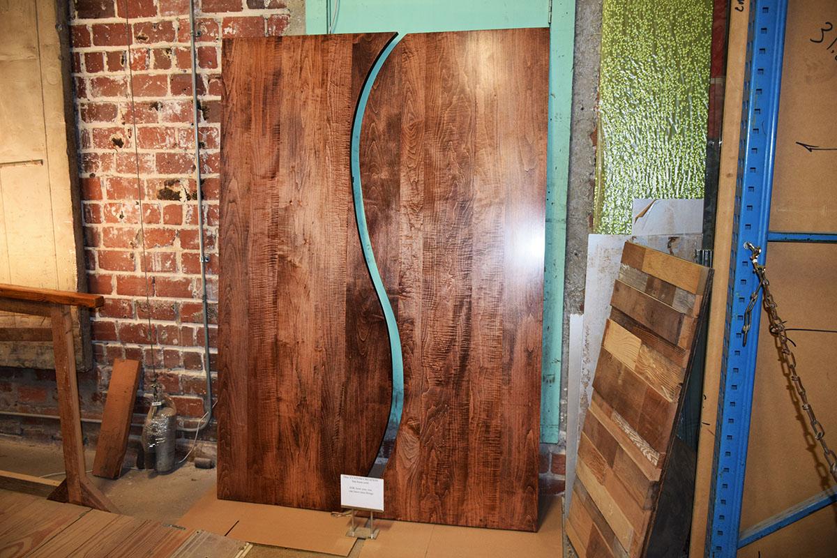 & Custom Maple Doors With Unique Design!
