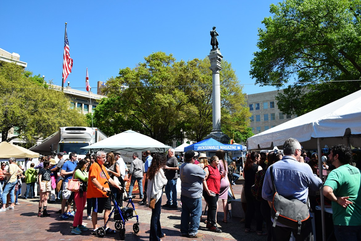Jacksonville Hemming Park-GastroFest March 2017