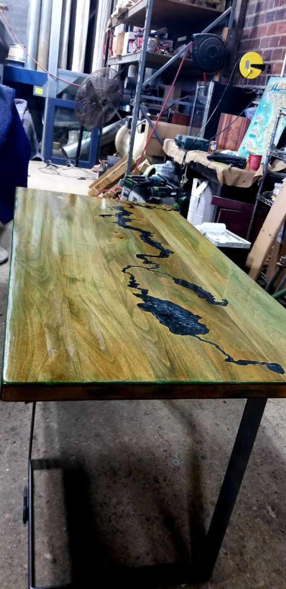 River Table finished