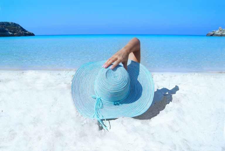 Sunbathing A Relaxing 2021