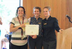Jennifer Humphrey Secondary Teacher of the Year