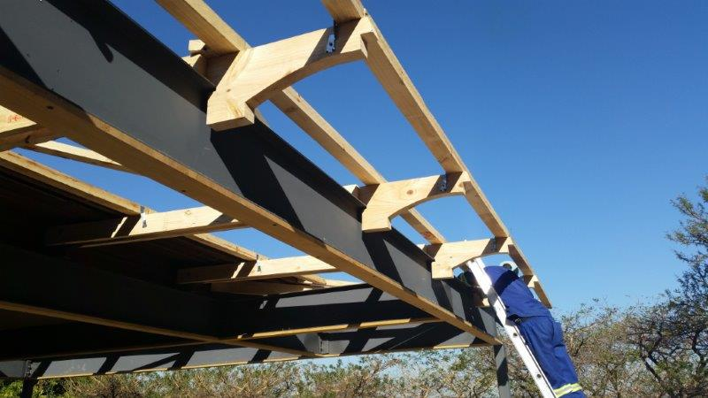Custom roof trusses sprockets