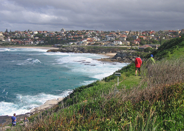 Bronte beach and suburb