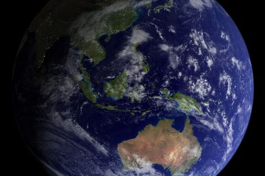 satelite image of Earth