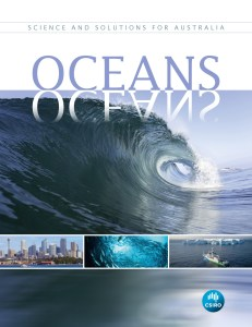 book cover showing wave
