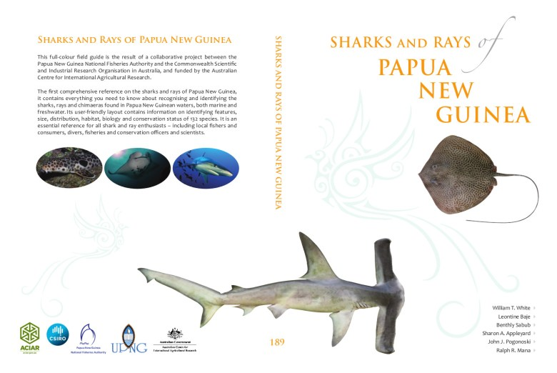 PNG sharks and ray sbook cover