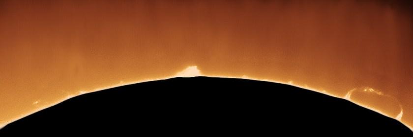 coronor on the sun's surface