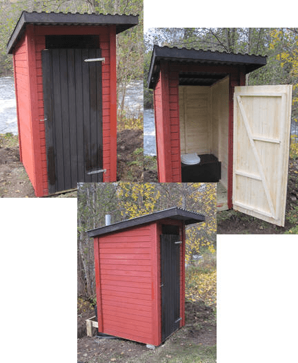 Ecosave Dalsland toilethuisje mindervaliden