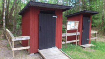 dalsland clivus toilethuisje