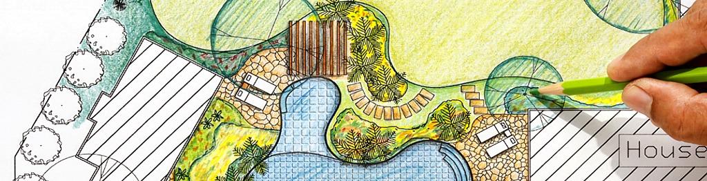 landscape CAD drawings