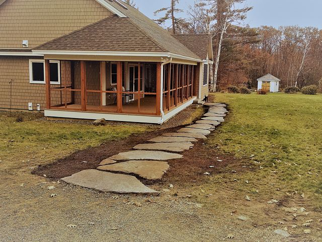 Goshen stone walk