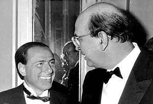 Berlusconi y Craxi