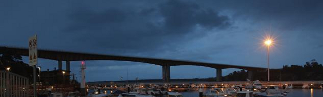 la luz al final del puente
