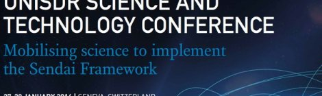 UNISDR Science And Technology Conference on The Implementation of The Sendai Framework for Disaster Risk Reduction 2015-2030