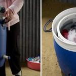 GiraDora - Saubere Wäsche ohne Strom
