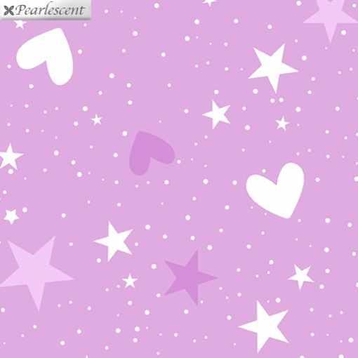 benartex_pearl_magical_stars_hearts_lilac