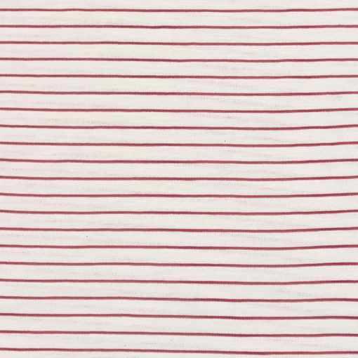 SJ2 Slub Jersey Stripes Hazelnut
