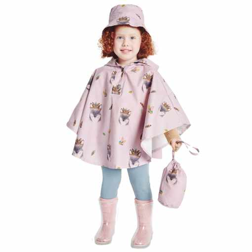 Waterproof_pink niña
