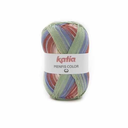 lana-hilo-menfiscolor-tejer-algodon-beige-azul-verdoso-rojo-primavera-verano-katia-114-fhd