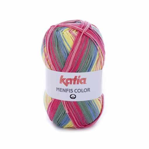 lana-hilo-menfiscolor-tejer-algodon-coral-rosa-amarillo-claro-azul-primavera-verano-katia-108-fhd