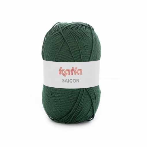 lana-hilo-saigon-tejer-acrilico-verde-botella-primavera-verano-katia-40-fhd