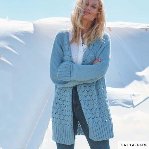 patron-tejer-punto-ganchillo-mujer-chaqueta-primavera-verano-katia-6254-35-g